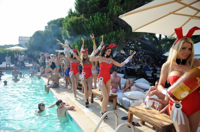 Nikki Beach St Tropez - American Independence Day event - Photo credit to ArtmanProd