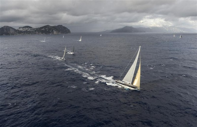 Nilaya yacht - Photo By Rolex Kurt Arrigo