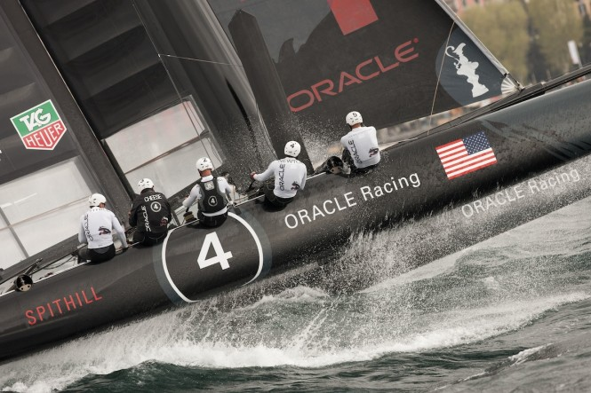 ORACLE Racing Team at Naples AC World Series  ACEA/Gilles Martin-Raget