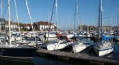 Ocean Village Marina - a superyacht marina situated in Southampton, UK