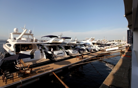 Princess Yachts at Rio Boat Show