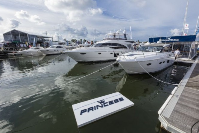 Princess Yachts at SCIBS 2012