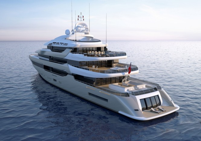 Proteksan Turquoise superyacht Pro 750 Golden Project