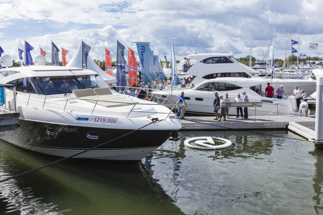 Riviera Yachts at SCIBS 2012