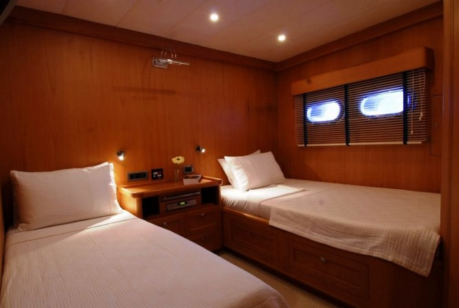 SEA COMET gulet -  Twin Cabin