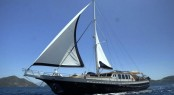 SEA COMET luxury gulet for charter in the Eastern Mediterranean