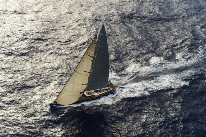 Sailing Yacht NILAYA - Photo By- Rolex : Kurt Arrigo