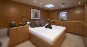 Sailing yacht Nephele - Master Cabin