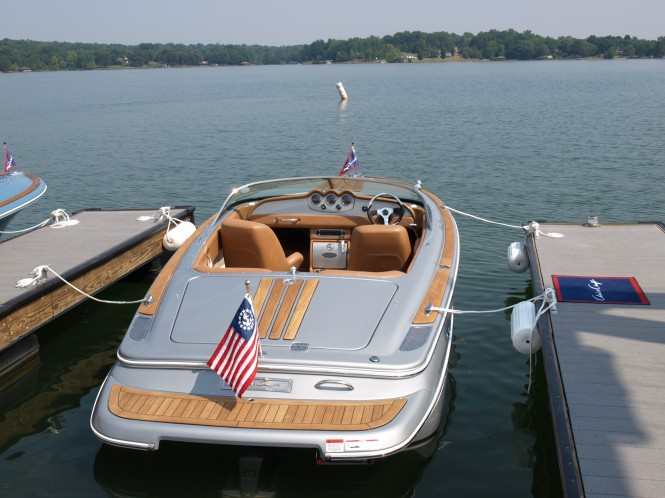 Silver Bullet yacht tender on display at the 24th Sanctuary Cove Boat Show