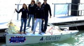 Skandia Team GBR Sailors at the Aberdeen Asset Management Cowes Week Launch Day Credit: Getty Images