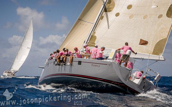 Stefan Lehnert's sailing yacht Passion 4C