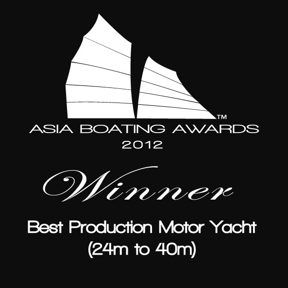 Sunseeker 28 Metre yacht awarded at Asia Boating Awards 2012