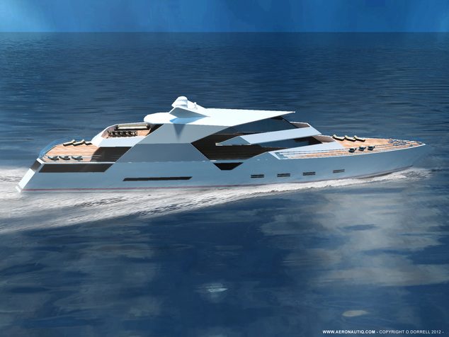 Superyacht Hercule design by Aeronautiq