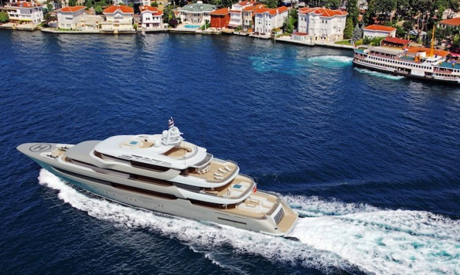Superyacht Project Pro 750 Golden by Proteksan Turquoise
