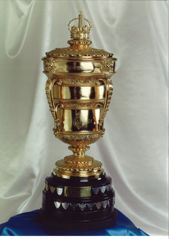 The RSYC Queen's Cup Trophy