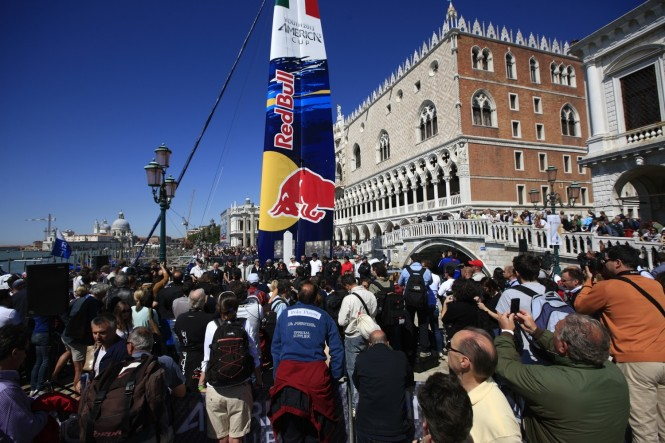 Launch of the Red Bull Youth America's Cup in Venice, Italy