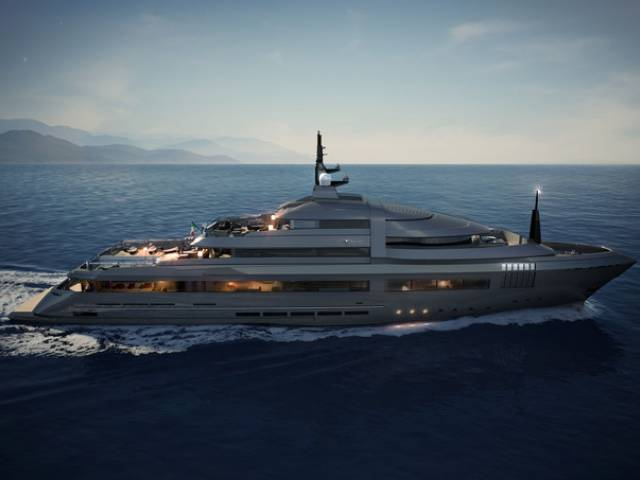Two new superyacht lines by Admiral Tecnomar - X Lence and C Force