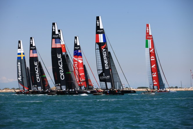 Venice AC World Series 2012 Day 1 © Gilles Martin-Raget / ACEA