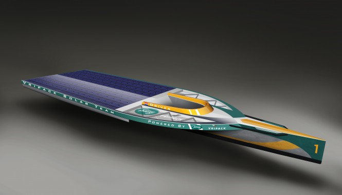 Vripack Solar Boat
