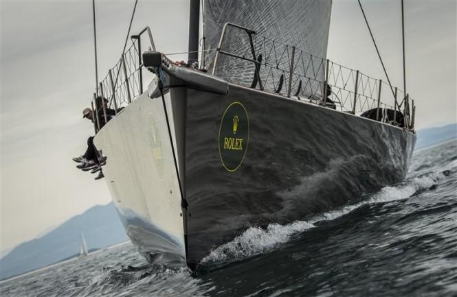 Wally 100 superyacht Y3K Photo: Rolex/Kurt Arrigo