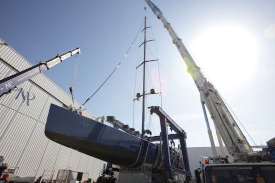 Wally 164 sailing yacht Better Place at ISA Yachts Photo by Monica Palloni