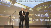 Winner of the Asian Marina of the Year 2012