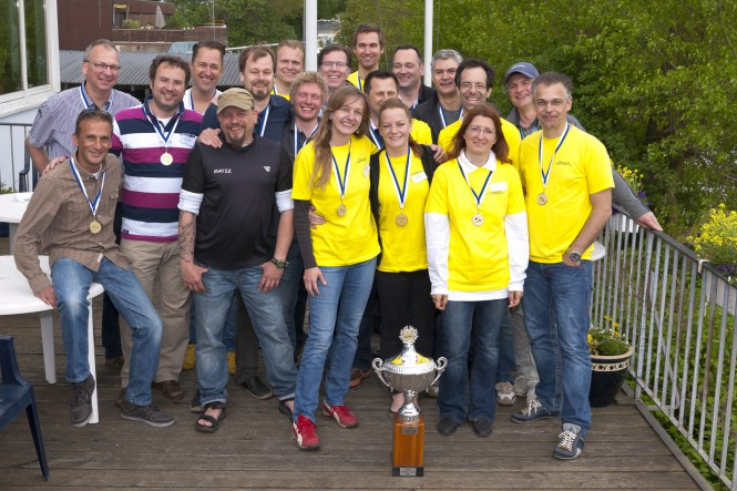 Winning team - Team Yellow