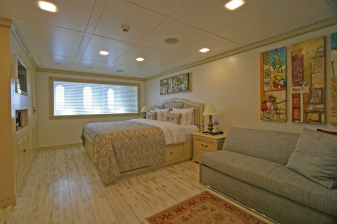 Yacht M&M - Lower Deck Master Cabin