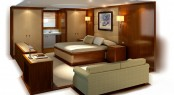 Yachting Developments luxury yacht Q5 Owners Cabin