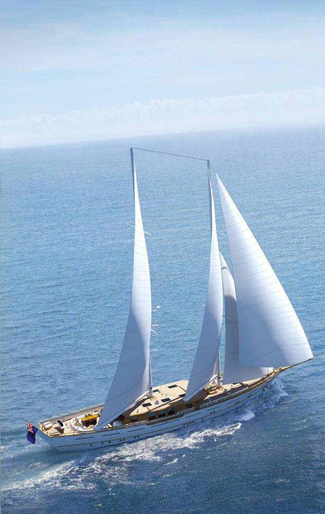 ZanZiba superyacht under sail