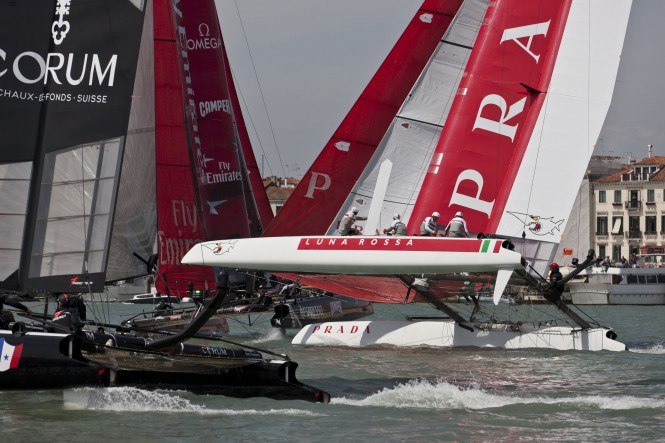 Venice America's Cup World Series - Day 2 ACEA 2012/ Photo Gilles Martin-Raget