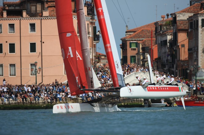 America's Cup World Series Venice 2012 - Racing Day 3 © ACEA 2012/ Photo Gilles Martin-Raget