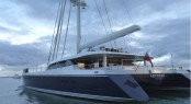 100ft catamaran yacht Q5