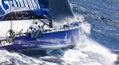 100ft luxury yacht Esimit Europa 2 competing in the 2012 Giraglia Rolex Cup Credit: Studio Borlenghi/G. Trombetta