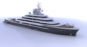 120m Newcruise mega yacht Explore 120