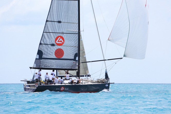 EFG Bank Mandrake yacht came good and won the IRC One title. Photo by SamuiPics.com.