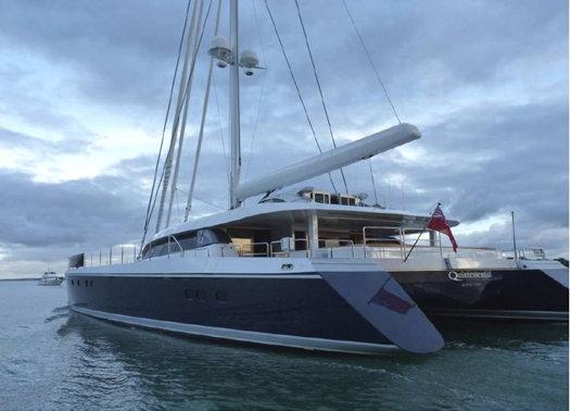 30.48m luxury catamaran yacht Q5 Quintessential (hull YD66) by Yachting Developments