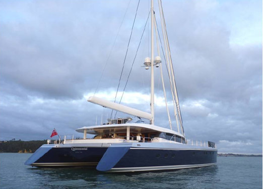 30.48m luxury sailing yacht Q5 Quintessential (hull YD66) by Yachting Developments