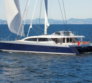 Yachting Developments deliver the 100ft catamaran yacht Q5 Quintessential (hull YD 66)