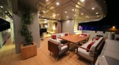 40m M superyacht maindeck aft
