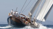 Superyacht Cup Palma 2012 Winner: 40m Royal Huisman superyacht MARIA CATTIVA Photo Credit Claire Matches