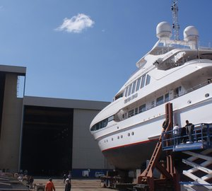 Newly refitted 41m Heesen charter yacht Seven Sins leaves ICON Yachts