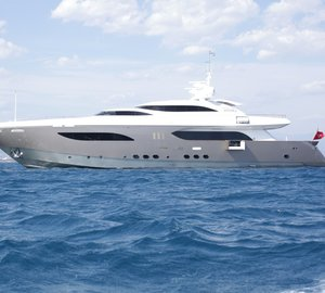 ITALY yacht charter vacation aboard 41m luxury motor yacht 'taTii'