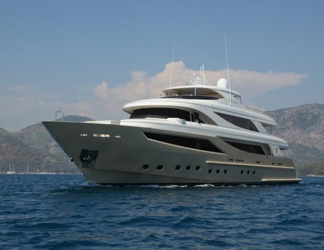 41m motor yacht My Steel by Mengi-Yay