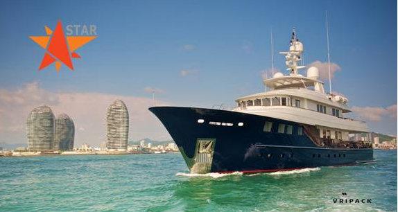 42m Kingship motor yacht STAR designed by Vripack