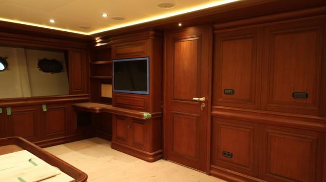 48.7m motor yacht Bilgin 160 Classic Lower Deck Guest Cabin