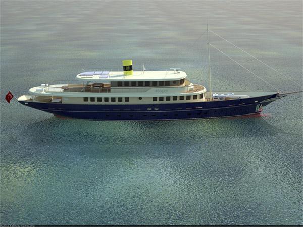 48.7m motor yacht Bilgin 160 Classic by Bilgin Shipyard