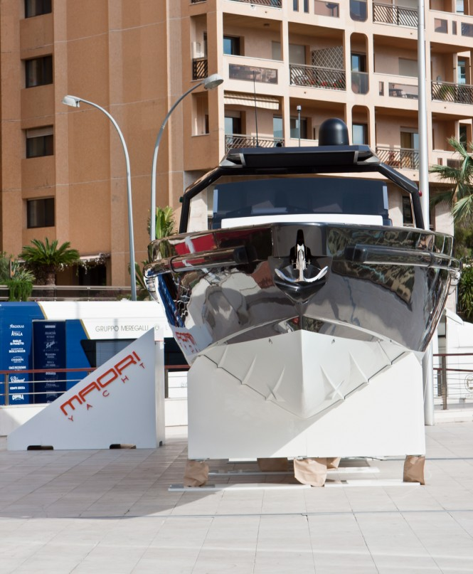 50ft Nasty by Maori Yachts - front view