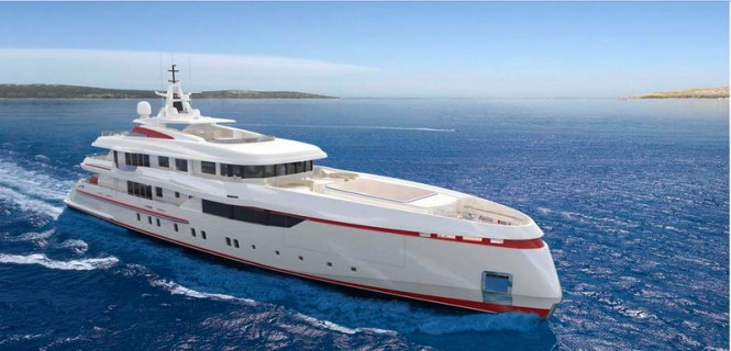 54m Panorama superyacht by ISA Yachts with engineering by Axis Group Yacht Design