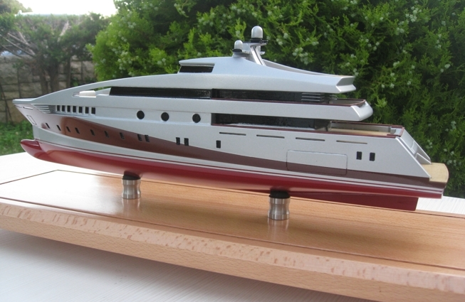59m Luxury yacht Project 591 Model